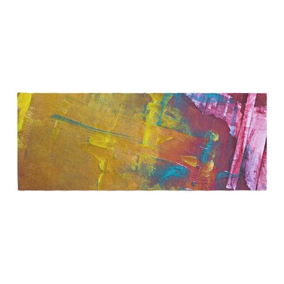 Malia Shields Cityscape Abstracts III Bed Runner