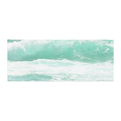 Monika Strigel Maui Waves Bed Runner