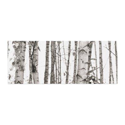 Monika Strigel Birchwood Forest Bed Runner