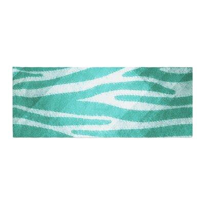 Nick Atkinson Zebra Print Texture Bed Runner