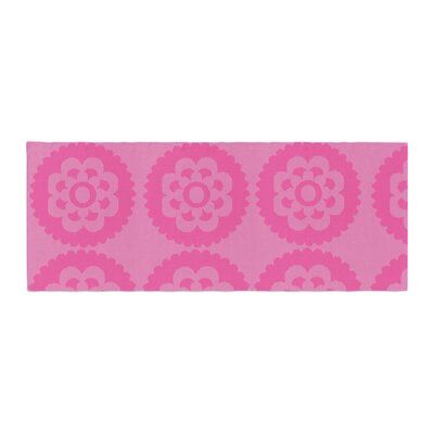 Nicole Ketchum Moroccan Bed Runner Color: Pink