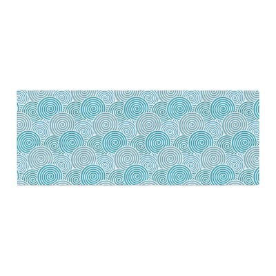 Nick Atkinson Ocean Swirl Bed Runner