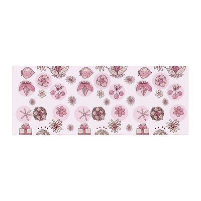 Marianna Tankelevich Cute Stuff Illustration Bed Runner