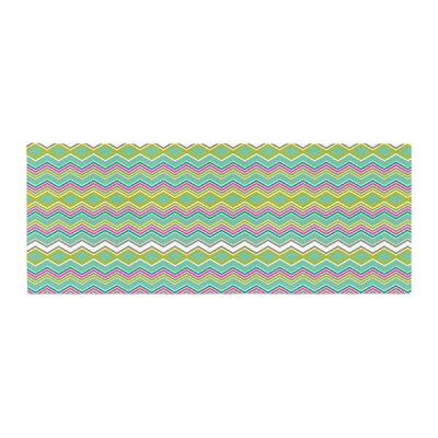 Nicole Ketchum Chevron Love Bed Runner