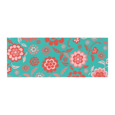 Nicole Ketchum Cherry Floral Sea Bed Runner