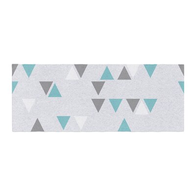 Nick Atkinson Triangle Love II Bed Runner