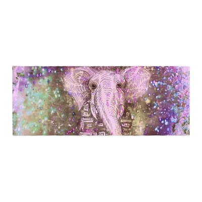 Marianna Tankelevich Dust Magic Elephant Sparkle Bed Runner