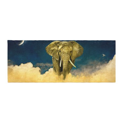 Nick Atkinson Celestial Elephant Bed Runner