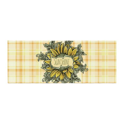Nick Atkinson Sunflower Sunshine Bed Runner