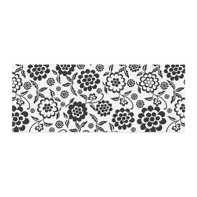 Nicole Ketchum Cherry Floral Bed Runner