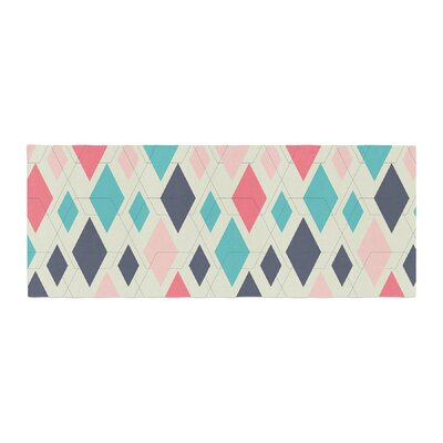 Neelam Kaur Modern Retro Digital Bed Runner