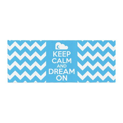 Nick Atkinson Keep Calm Bed Runner