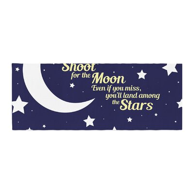 NL Designs Moon and Stars Quote Bed Runner