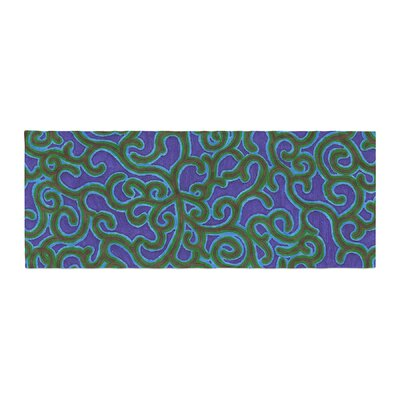 NL Designs Swirling Vines Bed Runner