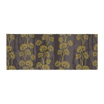 Neelam Kaur Textured Floral Elegance Bed Runner