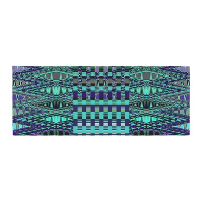 Nina May New Kilim Seafoam Bed Runner