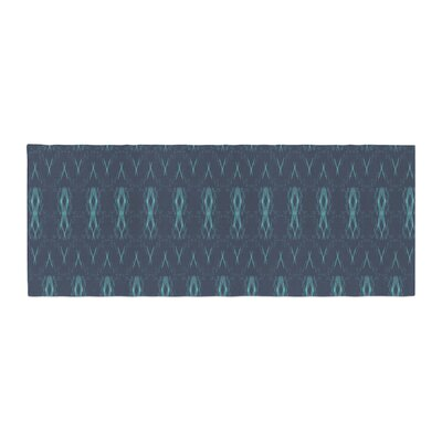 Neelam Kaur Threads Pattern Illustration Bed Runner