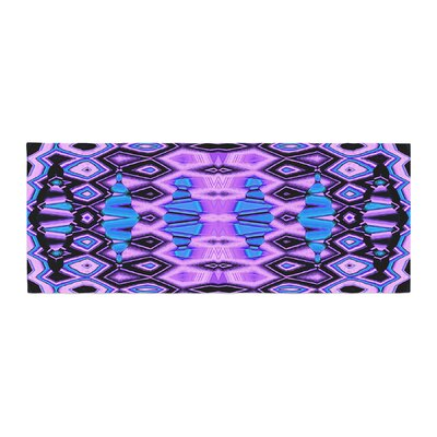 Nina May Deztecca Bed Runner Color: Lilac/Purple Blue