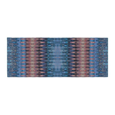 Nina May Larina Nueva Sky Bed Runner Color: Sky/Blue O?nge