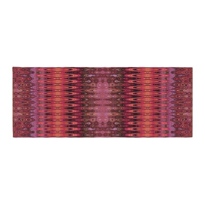 Nina May Larina Nueva Sky Bed Runner Color: Spice/Red Marsala