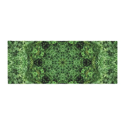 Nick Nareshni Forest Mandala Geometric Bed Runner