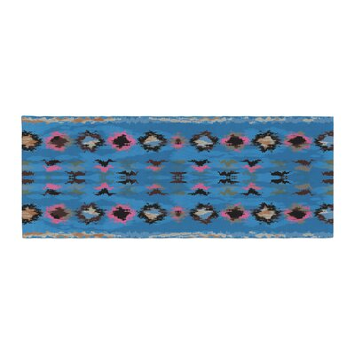 Nina May Navano Tribal Bed Runner Color: Orange