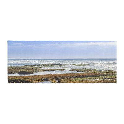 Nick Nareshni Low Tide Reef Photography Bed Runner