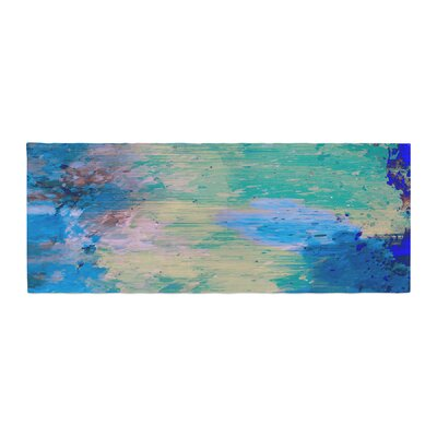 Nina May Mineral Abstract Bed Runner