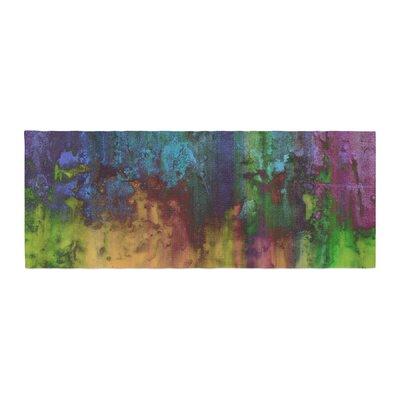 Nina May Rainbow Saltwater Painting Bed Runner