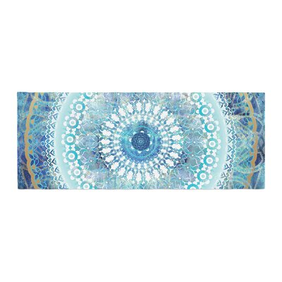 Nina May Ornate Boho Mandala Mixed Media Bed Runner