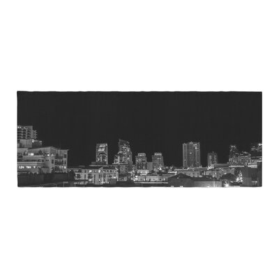 Nick Nareshni Cityscape Nights Photography Bed Runner