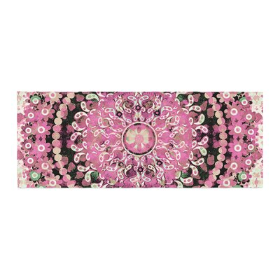 Nina May Mosaic Mandala Illustration Bed Runner