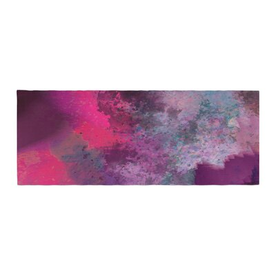 Nina May Mineral Watercolor Bed Runner