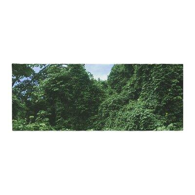Nick Nareshni Forest in the Sky Photography Bed Runner