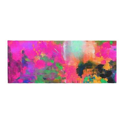 Oriana Cordero Montesilvano-Abstract Painting Bed Runner