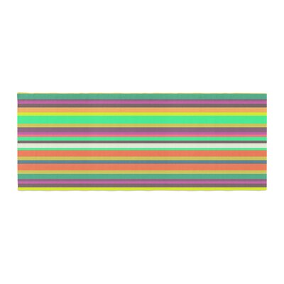 Nandita Singh Pattern Play Stripes Bed Runner