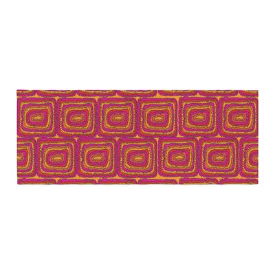 Nandita Singh Bright Squares Bed Runner