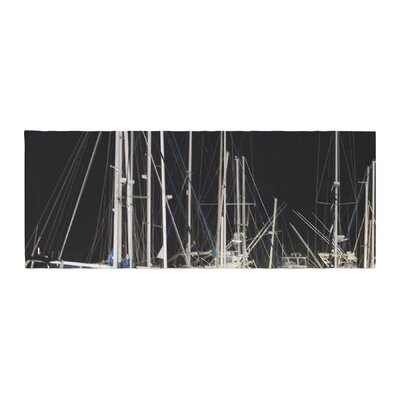 Philip Brown Dinner Key Marina Coastal Bed Runner