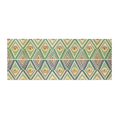 Pom Graphic Design Celebration Bed Runner