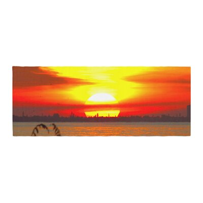 Philip Brown Sunrise on Sanibel Bed Runner