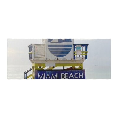 Philip Brown Miami Beach Lifeguard Bed Runner