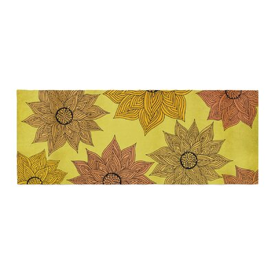 Pom Graphic Design Its Raining Flowers Bed Runner