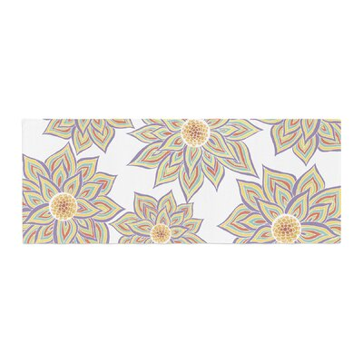 Pom Graphic Design Floral Dance Bed Runner
