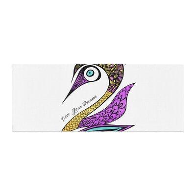 Pom Graphic Design Dreams Swan Bed Runner