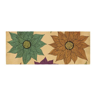 Pom Graphic Design Color Me Floral Bed Runner