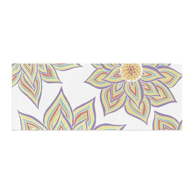 Pom Graphic Design Floral Rhythm Bed Runner