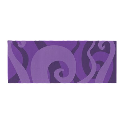 Poor Unfortunate Souls Bed Runner Color: Purple