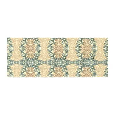 Mydeas Fancy Damask Antique Bed Runner