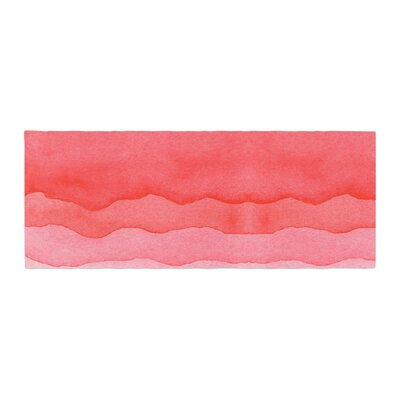 Ombre Cherries Abstract Bed Runner
