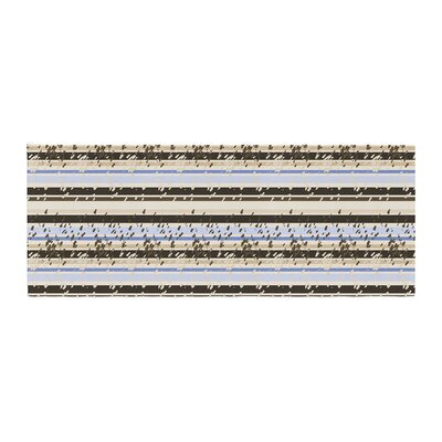 Mydeas Nautical Breeze - Sandy Stripes Bed Runner